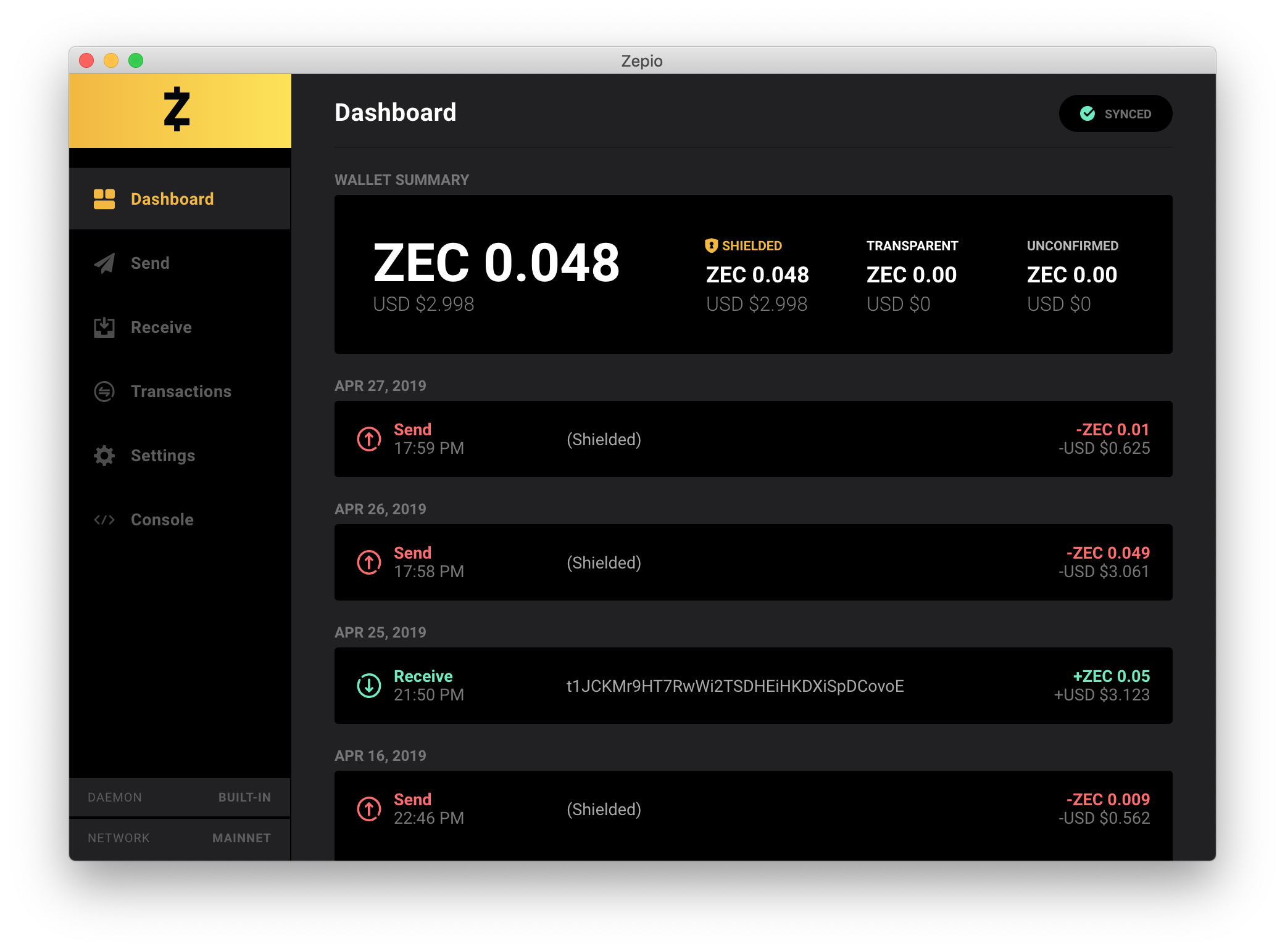 zepio-dashboard