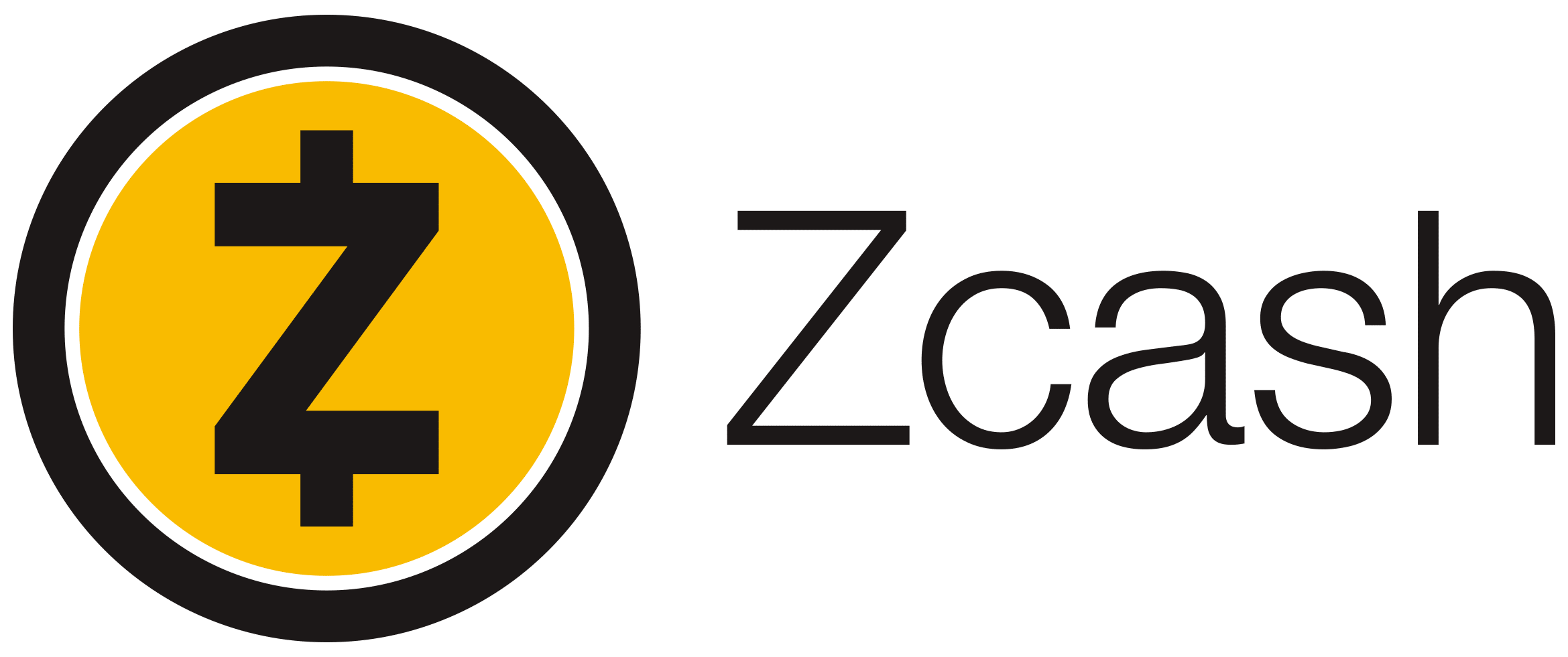Logo Zcash 2021