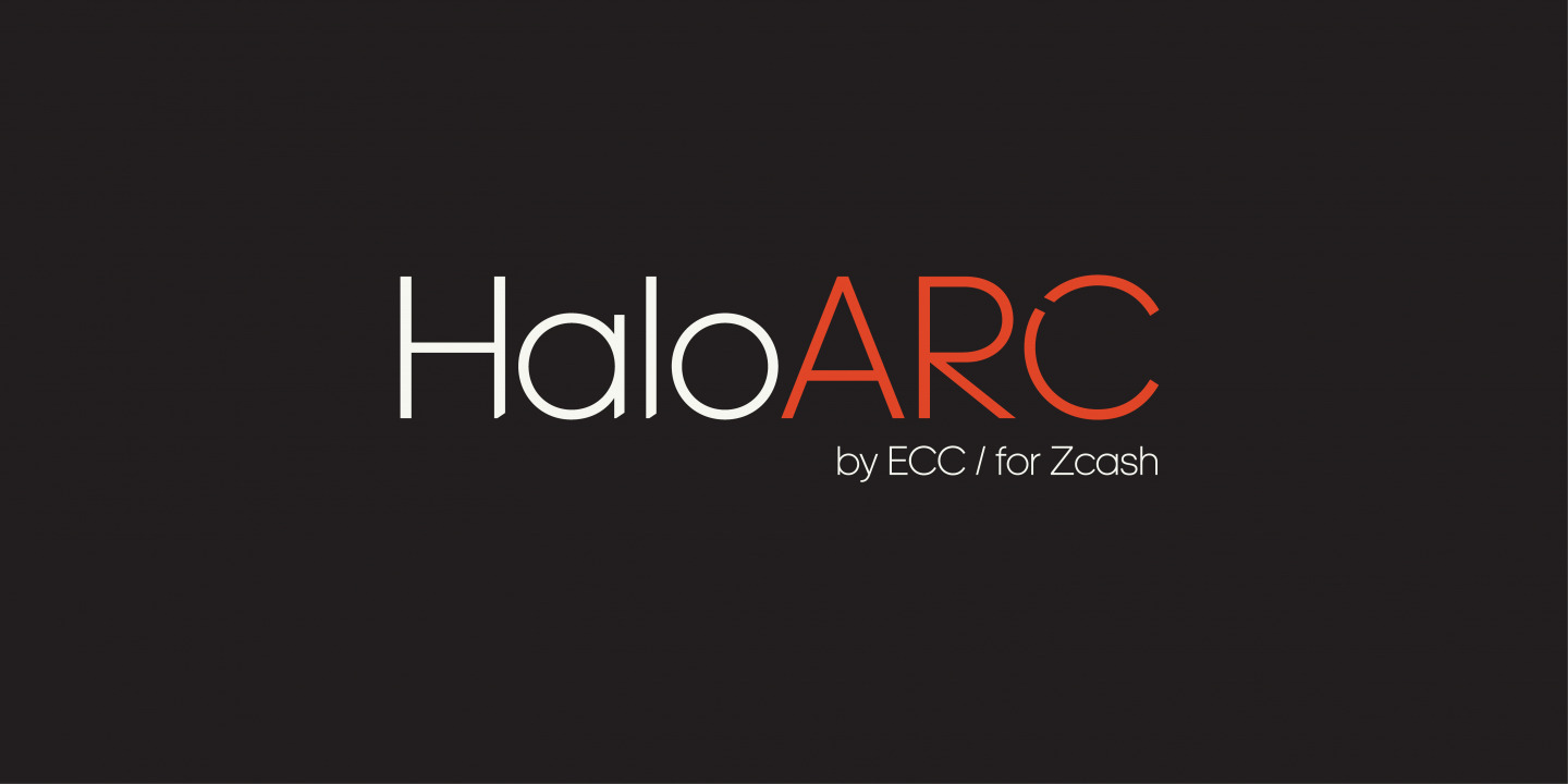 Halo ARC by ECC for Zcash
